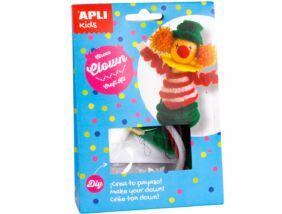 Apli Kids Craft Kit figura készítő-Cirkuszi bohóc