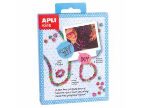 Apli Kids Mini Kit-Ékszerkészítő szívecskék