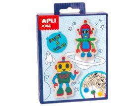 Apli Kids Mini Kit-Figura kifestő Robot