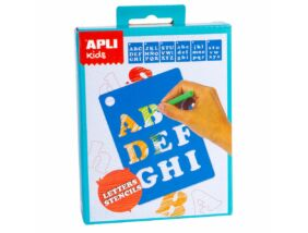 Apli Kids Mini Kit-Betű sablonok