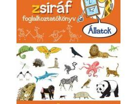 Ablak Zsiráf foglalkoztatókönyv-Állatok