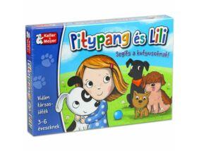 Pitypang és Lili társasjáték