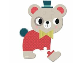 Janod-Bébi mini puzzle-Medve