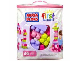 Mega Bloks-Nagy lányos építő csomag 60db