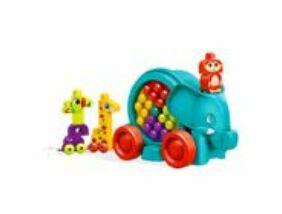 Mega Bloks-Fiús bukfencező elefánt