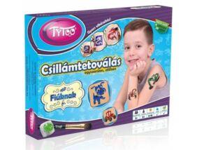 TyToo-Fiús Kicsi Csillámtetoválás Szett