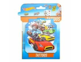 Hot Wheels 3D 50 tetoválás