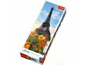 Home Gallery Puzzle - Eiffel torony virágok között, Trefl
