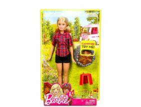 Barbie Barbie a tábortűz mellett