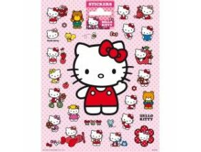 Hello Kitty matrica - 16x20 cm