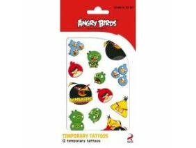 Angry Birds tetováló matrica