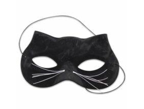 Fekete macska álarc