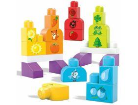 Mega Bloks-Színes építőszett