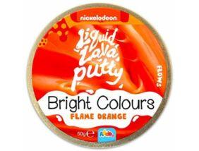 Intelligens putty gyurma - Élénk színek - Narancs