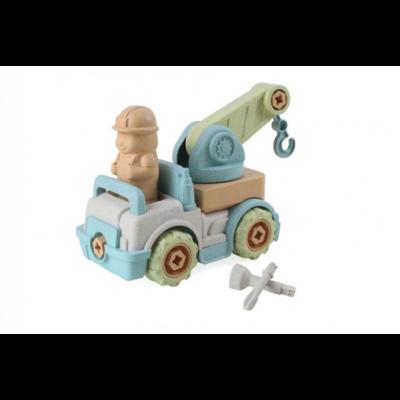 Magni - Öko szerelhető darus teherautó