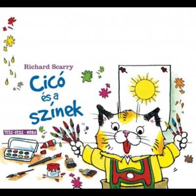 Tesz-Vesz sorozat - Cicó és a színek - lapozó