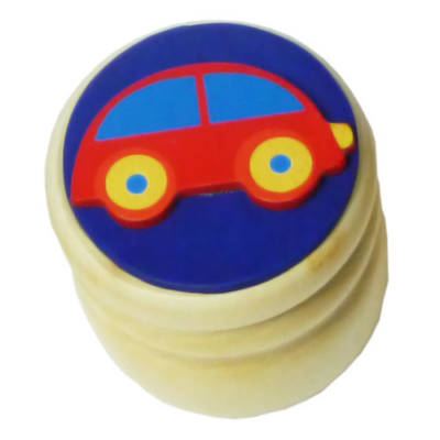 Fajáték - Tejfogtartó - autós