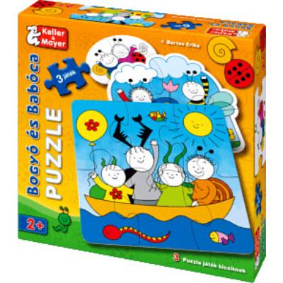 Bogyó és Babóca puzzle kicsiknek