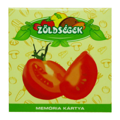 Memóriakártya - Zöldségek