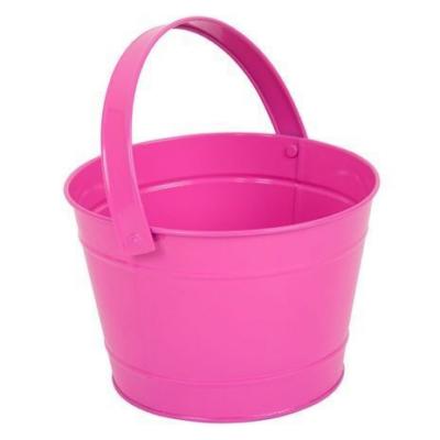 Twigz - Fém vödör - pink