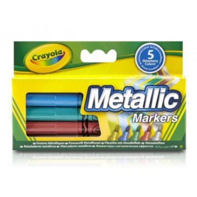 Crayola - Metál színű filcek