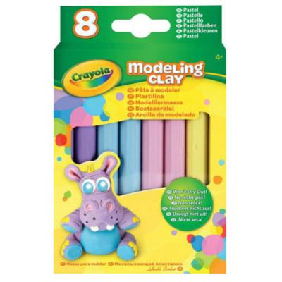 Crayola - Gyurma - 8 db - pasztell színek
