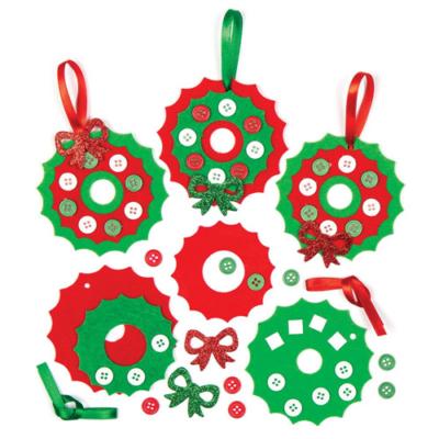 Baker Ross - Karácsonyi koszorú készítő szett