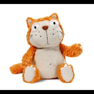 Nici - Plüss macska - Narancssárga - 35 cm