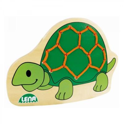 Lena - Teknős fűzős játék