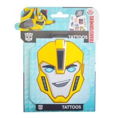 Transformers - 3D tetoválás készlet - 50 db-os