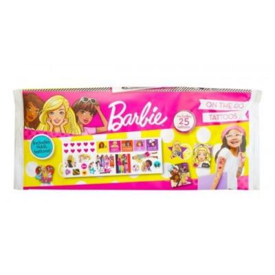 Barbie - Mini tetoválás készlet - 25 db-os