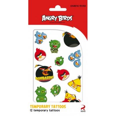 Angry Birds - Tetováló Matrica