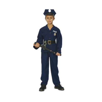 Rendőr jelmez - 120-130 cm-es