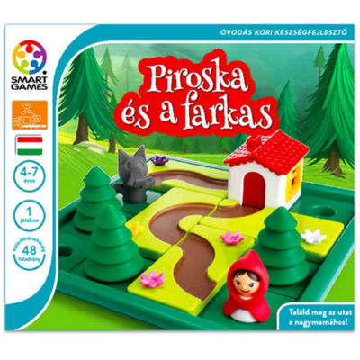 Smart Games - Piroska és a farkas egyszemélyes játék