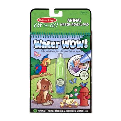 Melissa & Doug - Rajzolás vízzel, állatok
