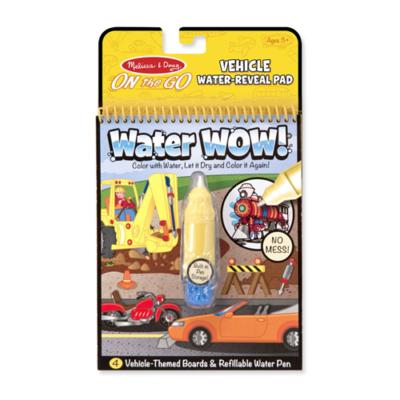 Melissa & Doug - Rajzolás vízzel, járművek