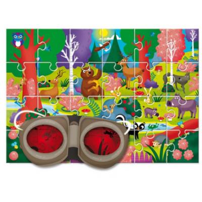 Ludattica - Titokzatos puzzle - Az erdő