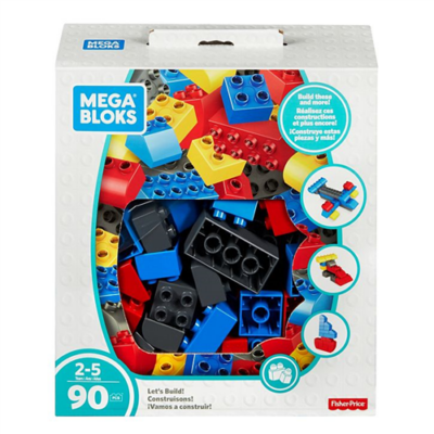 Mega Bloks - Mini építőkocka nagy csomag