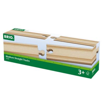 Brio - 4 db közepes egyenes sín