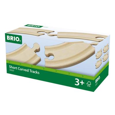 Brio - 4 db rövid kanyar sín