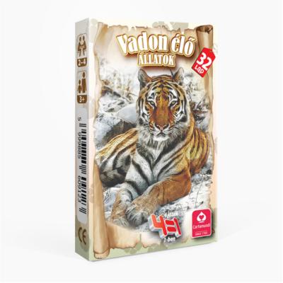 4 az 1-ben Vadon élő állatok kártyajáték