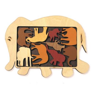 Elefánt parádé logikai játék