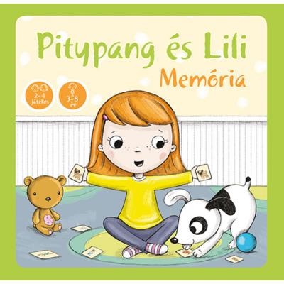 Pitypang és Lili memória – memóriajáték