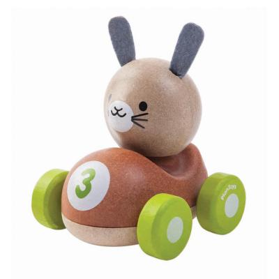 Plan Toys - Nyuszis versenyző