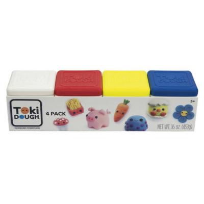 Toki Dough gyurma négy színben