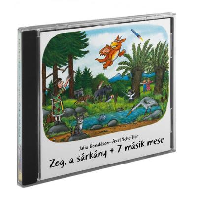 Zog, a sárkány + 7 másik mese – hangoskönyv