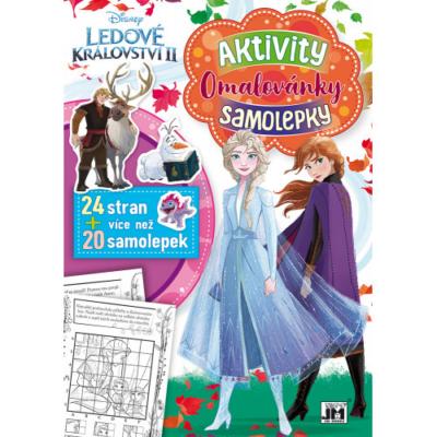 Jégvarázs 2 - Foglalkoztató könyv matricákkal - A4