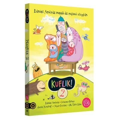 KUFLIK 2. DVD - Mi újság, kuflik?