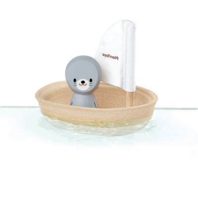 Plan Toys - Vitorlás csónak – Fóka