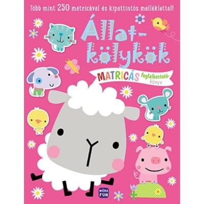 Állatkölykök - Matricás foglalkoztatókönyv